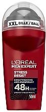 Düfte, Parfümerie und Kosmetik Deo Roll-on Antitranspirant - L'Oreal Paris Men Expert Stress Resist 48H Anti-Perspirant Deo Roll-On