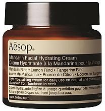 Düfte, Parfümerie und Kosmetik Feuchtigkeitsspendende Gesichtscreme mit Mandarinenschale - Aesop Mandarin Facial Hydrating Cream