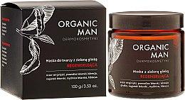 Düfte, Parfümerie und Kosmetik Regenerierende Gesichtsmaske für Männer mit grünem Tom - Organic Life Dermocosmetics Man