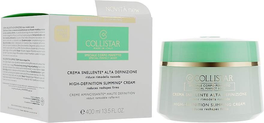 Körpercreme zum Abnehmen - Collistar Crema Snellente Alta Definizione