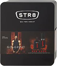 Düfte, Parfümerie und Kosmetik STR8 Red Code - Duftset (Eau de Toilette 50ml + Deospray 150ml)