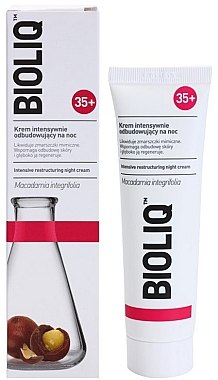 Intensiv regenerierende Nachtcreme 35+ - Bioliq 35+ Face Night Cream — Bild N2