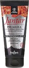 Düfte, Parfümerie und Kosmetik Pre-Maske für fettiges Haar mit Aktivkohle und Amberextrakt - Farmona Jantar