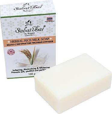 Seife mit Reiskeimextrakt - Sabai Thai Herbal Rice Milk Soap — Bild N1