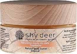 Düfte, Parfümerie und Kosmetik Natürliche Körperbutter - Shy Deer Natural Body Butter