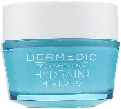 Feuchtigkeitsspendende Gesichtscreme SPF 15 - Dermedic Hydrain3 Hialuro Deeply Moisturizing Cream SPF 15 — Bild N1