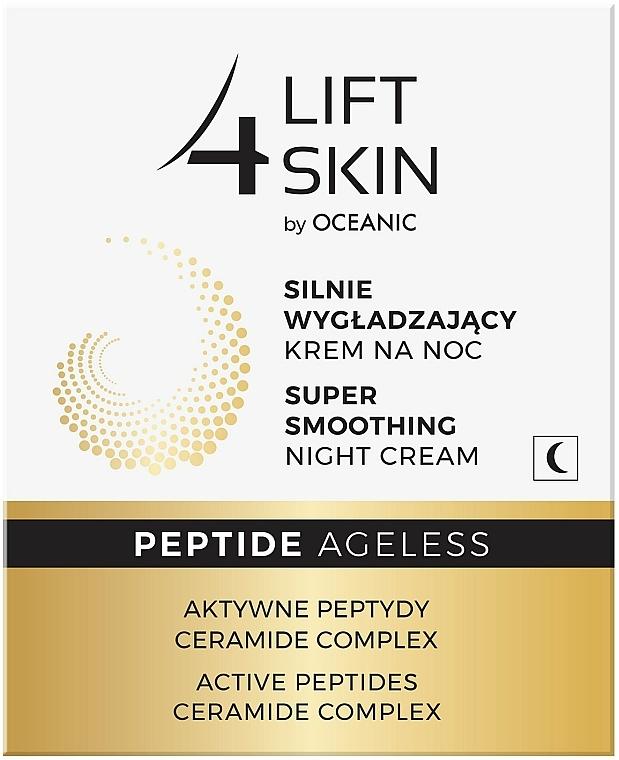 Intensiv glättende Nachtcreme für das Gesicht mit aktiven Peptiden und Ceramide-Komplex - Lift4Skin Peptide Ageless Night Cream — Bild N3