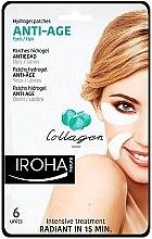Düfte, Parfümerie und Kosmetik Anti-Aging Gelpatches mit Kollagen - Iroha Nature Anti Age Hydrogel Patches Collagen