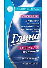 Düfte, Parfümerie und Kosmetik Kosmetische tonisierende blaue Tonerde für Gesicht - Fitokosmetik