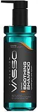 Düfte, Parfümerie und Kosmetik Hypoallergenes beruhigendes Shampoo für Männer - Vasso Professional Shooting Hair Shampoo Dermo