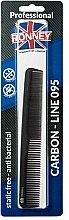Düfte, Parfümerie und Kosmetik Haarkamm 178 mm - Ronney Professional Carbon Line 095
