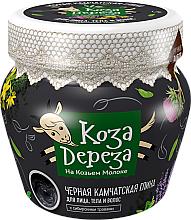 Düfte, Parfümerie und Kosmetik Schwarzer Kamtschatka-Ton für Gesicht, Körper und Haar - Fito Kosmetik Koza Dereza