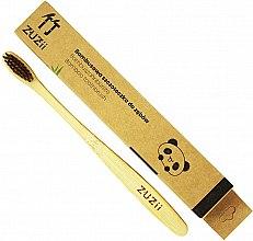 Düfte, Parfümerie und Kosmetik Bambuszahnbürste weich braun - Zuzii Soft Toothbrush