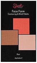Düfte, Parfümerie und Kosmetik Konturierpalette - Sleek Makeup Face Form Ultimate Contour Kit Fair
