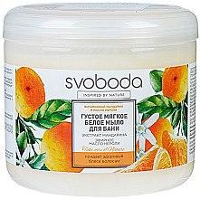 Düfte, Parfümerie und Kosmetik Haar- und Körperseife mit Mandarinenextrakt und ätherischem Neroliöl - Freiheit