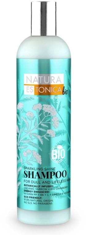 Glanzgebendes Shampoo für stumpfes, kraftloses Haar - Natura Estonica Sparkling Shine Shampoo — Bild N1