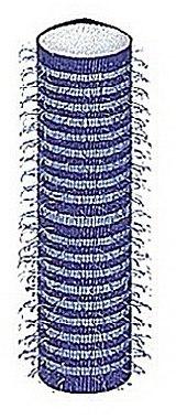 Klettwickler mit Schaumstoffbasis 15 mm 12 St. - Donegal Hair Curlers — Bild N1
