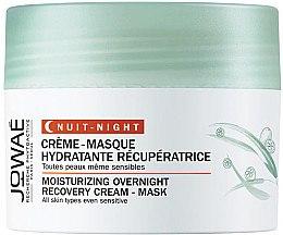 Düfte, Parfümerie und Kosmetik Feuchtigkeitsspendende Creme-Maske für das Gesicht - Jowae Moisturizing Overnight Recovery Cream-Mask