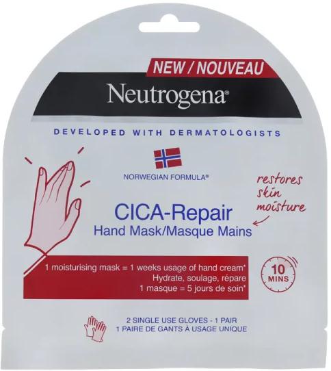 Feuchtigkeitsspendende und regenerierende Handmaske - Neutrogena Cica-Repair — Bild N1