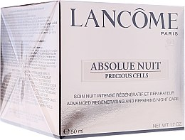 Düfte, Parfümerie und Kosmetik Regenerierende und reparierende Nachtcreme - Lancome Absolue Precious Cells Advanced Regenerating and Repairing Night Cream
