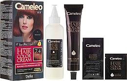 Düfte, Parfümerie und Kosmetik Permanente Cremehaarfarbe mit natürlichen Ölen - Delia Cameleo Omega +