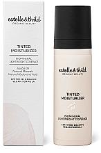 Düfte, Parfümerie und Kosmetik Getönte Feuchtigkeitscreme für das Gesicht mit Hyaluronsäure und Jojobaöl - Estelle & Thild Tinted Moisturizer