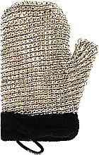 Düfte, Parfümerie und Kosmetik Massage-Badehandschuh für Männer - Suavipiel Black Men Sisal Glove