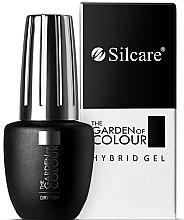 Düfte, Parfümerie und Kosmetik Schnelltrocknender Hybrid-Nagelüberlack - Silcare Dry Top From The Garden Of Color