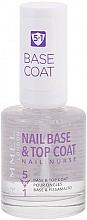 Düfte, Parfümerie und Kosmetik 5in1 Unterlack & Überlack - Rimmel Nail Nurse 5in1 Nail Base & Top Coat