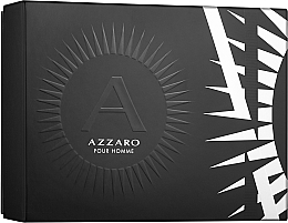 Düfte, Parfümerie und Kosmetik Azzaro Pour Homme - Duftset (Eau de Toilette 50ml + Deostick 75ml)