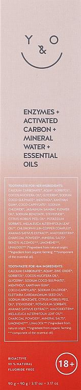 Zahnpflegeset - You & Oil Kiss Me Aphrodisiac Toothpaste Bundle For Him & Her (Zahnpasta 2x90g) — Bild N2