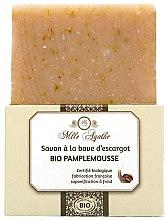 Düfte, Parfümerie und Kosmetik Zertifizierte Bio Pampelmusenseife mit Schneckenschleim-Extrakt - Mlle Agathe