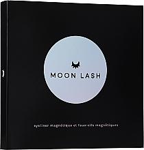 Düfte, Parfümerie und Kosmetik Make-up Set für die Augen (Künstliche Wimpern 1St. + Wimpernapplikator 1St. + Eyeliner 5ml) - Moon Lash Kit Magnetic 005 New Moon