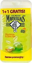 Düfte, Parfümerie und Kosmetik Duschgel Mandarine & Limette Duo-Pack - Le Petit Marseillais (2x250ml)
