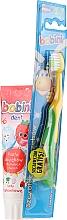 Düfte, Parfümerie und Kosmetik Kinder Zahnpflegeset 1-6 Jahre - Bobini 1-6 (Zahnbürste + Zahnpasta 75ml)