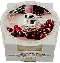 Düfte, Parfümerie und Kosmetik Soja-Duftkerze Sweet Cherry - House of Glam Sweet Cherry Liquer Candle (Mini)