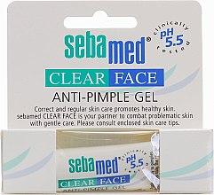 Düfte, Parfümerie und Kosmetik Anti-Pickel Gel - Sebamed Clear Face anti-Pimple Gel Stick