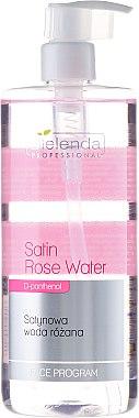 Satin Rosenwasser mit Rosenblütenextrakt, D-Panthenol und Harnstoff - Bielenda Professional Face Program Satin Rose Water — Bild N1