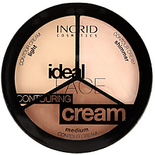 Düfte, Parfümerie und Kosmetik Highlighter Gesichtspalette - Ingrid Cosmetics Ideal Face Countouring Cream