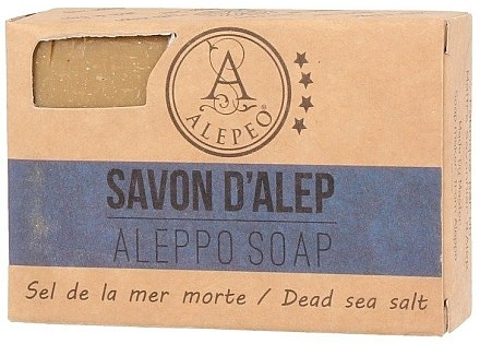 Aleppo-Seife mit Meersalz - Alepeo Aleppo Soap Dead Sea Salt 8% — Bild N1