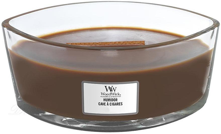 Duftkerze im Glas Humidor - WoodWick Humidor Ellipse Scented Candle — Bild N2