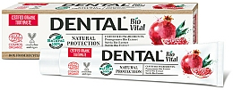 Düfte, Parfümerie und Kosmetik Zahnpasta mit Granatapfelextrakt - Dental Bio Vital Natural Protection Toothpaste