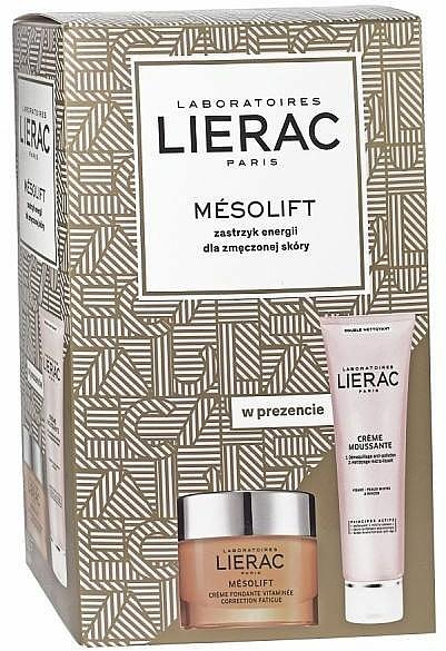 Gesichtspflegeset - Lierac Mesolift (Gesichtscreme 50ml + Creme-Schaum 150ml)
