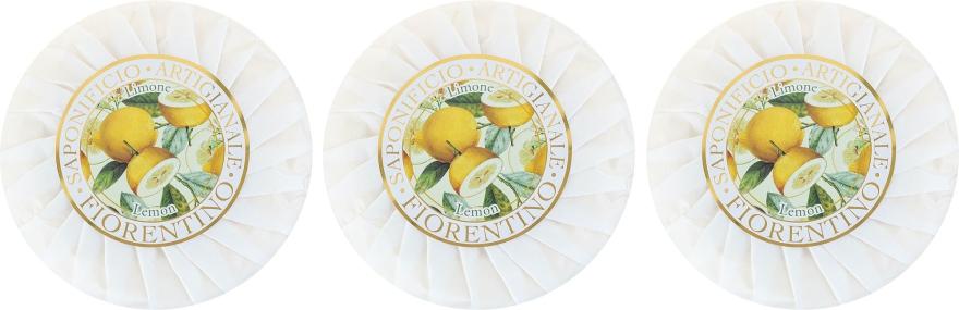 Seifenset Zitrone - Saponificio Artigianale Fiorentino Lemon Soap — Bild N2