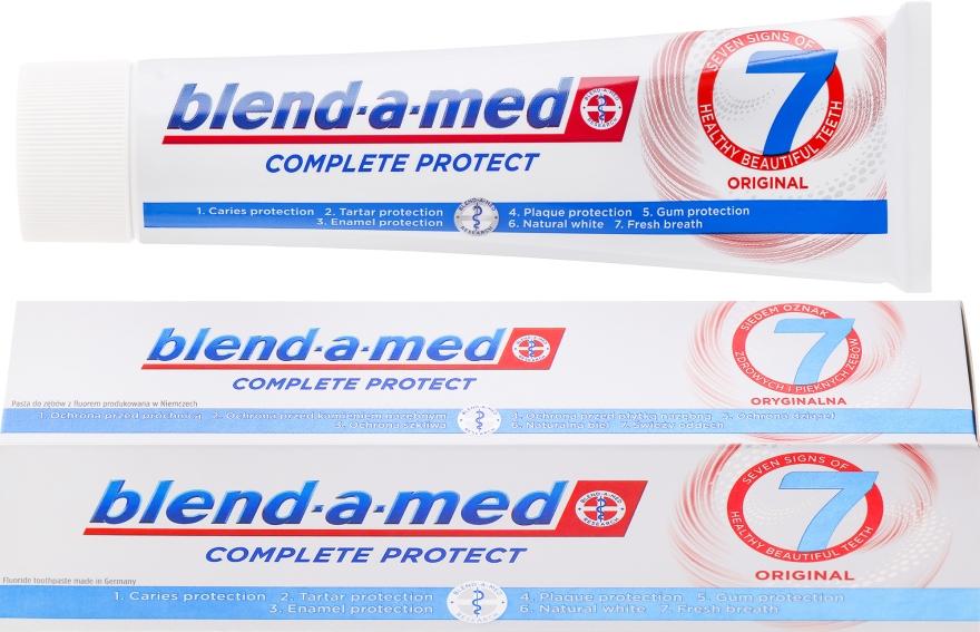 Zahnpasta Complete Protect 7 Original - Blend-a-med Complete Protect 7 Original — Bild N1