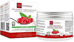 Düfte, Parfümerie und Kosmetik Pflegende Körpercreme mit Preiselbeerextrakt - GoCranberry
