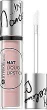 Düfte, Parfümerie und Kosmetik Hypoallergener flüssiger Lippenstift - Bell Hypoallergenic Mat Lip Liquid by Marcelina