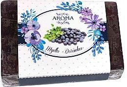 Düfte, Parfümerie und Kosmetik Seife Blaubeere - Delicate Organic Aroma Soap