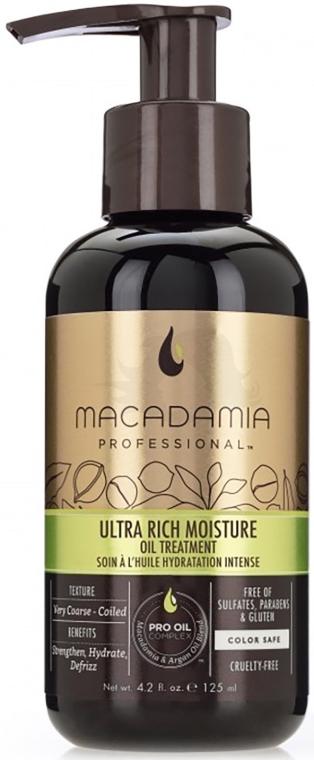 Feichtigkeitsspendende Ölbehandlung für das Haar mit Argan und Macadamia - Macadamia Ultra Rich Moisture Oil Treatment — Bild N1