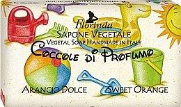 Düfte, Parfümerie und Kosmetik Handgemachte Naturseife für Kinder mit süßer Orange - Florinda Sapone Vegetale Orange Cake